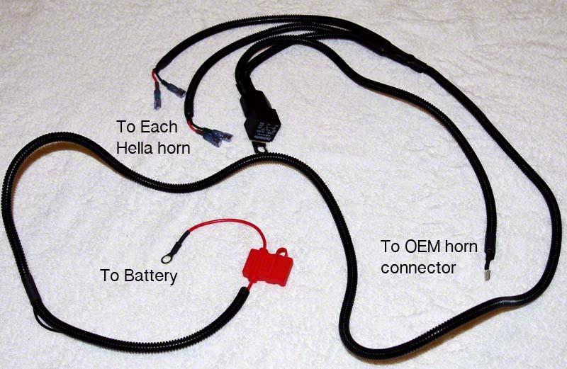 Subaru Horn Wiring Harness | Wiring Diagram on