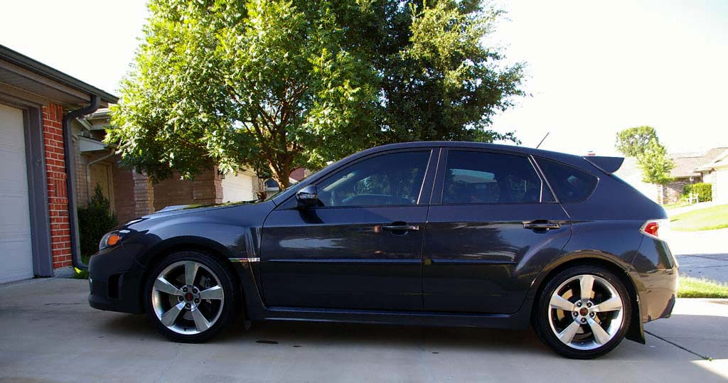 2008 Subaru WRX STi - Tires and Wheels